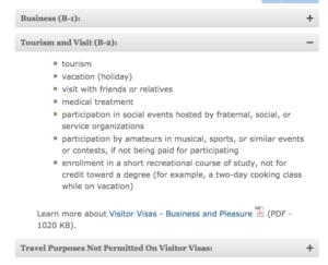 US Visa For Medial Tourism