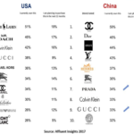 Comparing luxury brands in China vs. U.S.